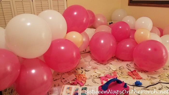 Pink Balloons for a Balloon Garland