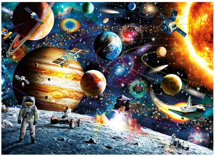 Space, Planets Puzzle