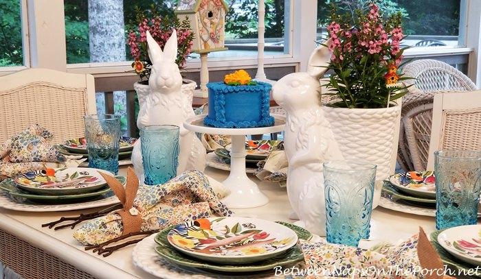Spring Mini Cake in Blue