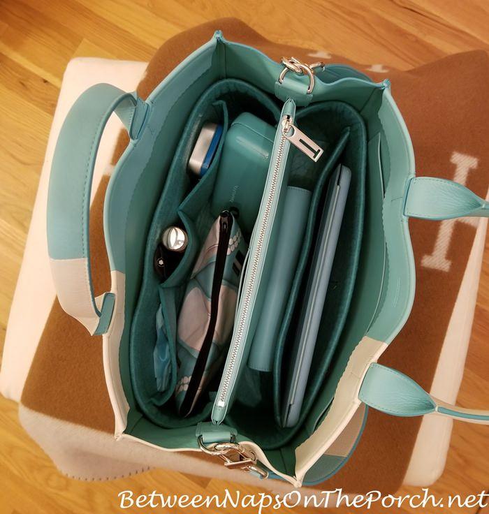 Tiffany Blue Organizer for Tiffany Tote Bag