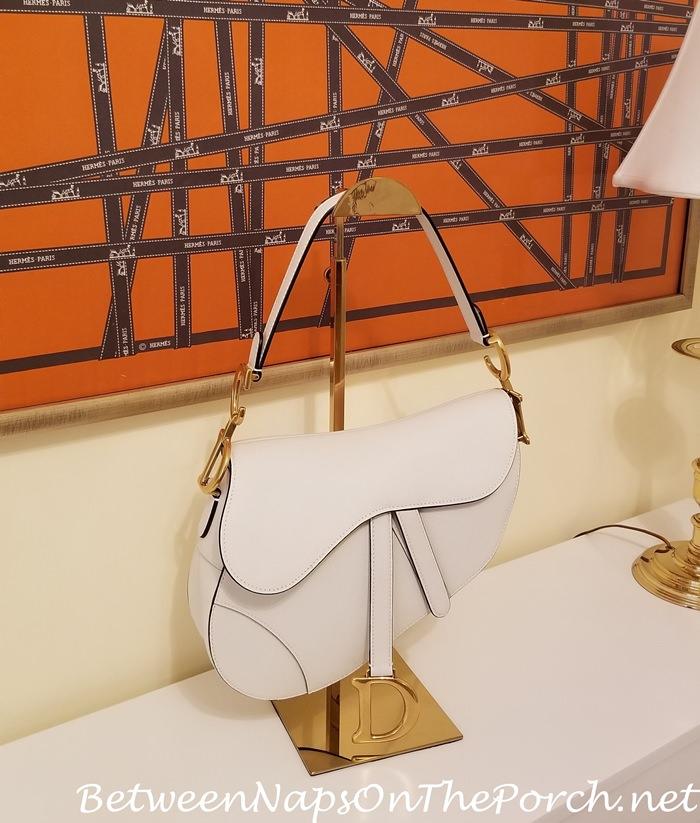 Best Way to Store Dior Saddle Bag, Handbag Stand-Rack