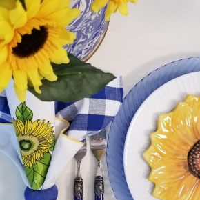 Cobalt Blue Flatware