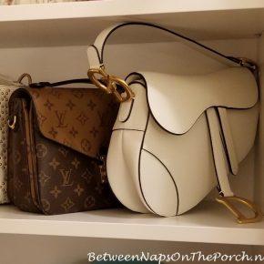 Dior Saddle Bag Storage Ideas