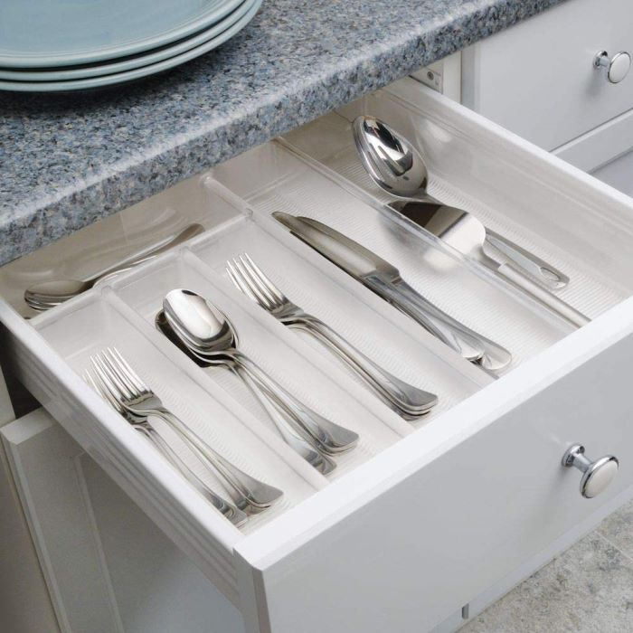 Flatware Storage, Expandable to Fill Drawer of Any Size
