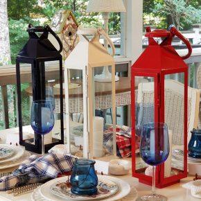 Red, White, Blue Lanterns