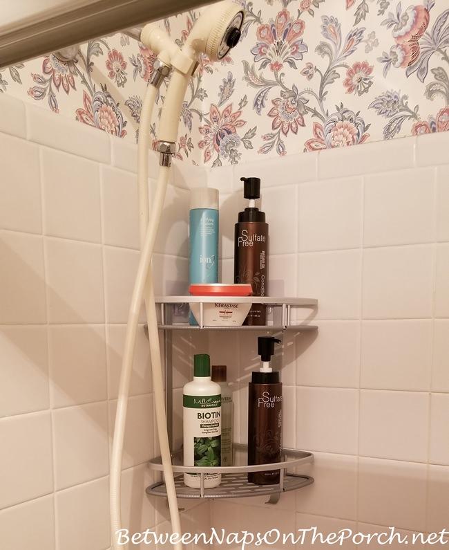 Shower Caddy Organizer, Easy Install