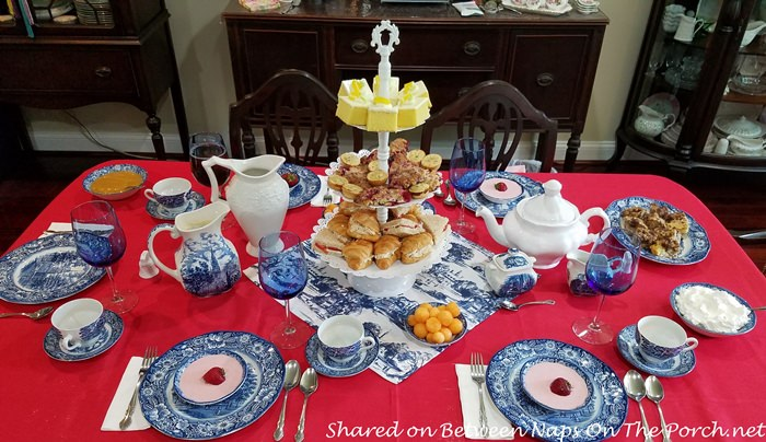 Tea Party, Patriotic in Red, White and Blue