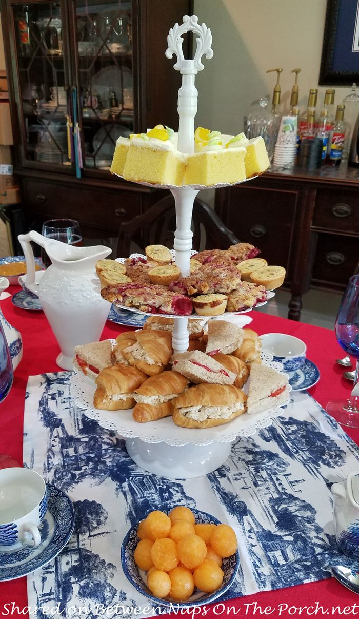 Tea Party in Red, White and Blue