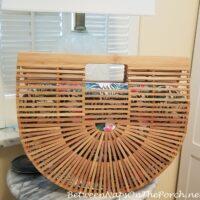 Bamboo Arc Bag, Cult Gaia Inspired