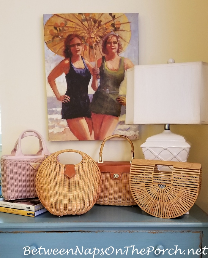 Cute Wicker, Rattan, Bamboo Bags for Summer