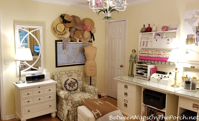 Home Office, Decorate with Hats