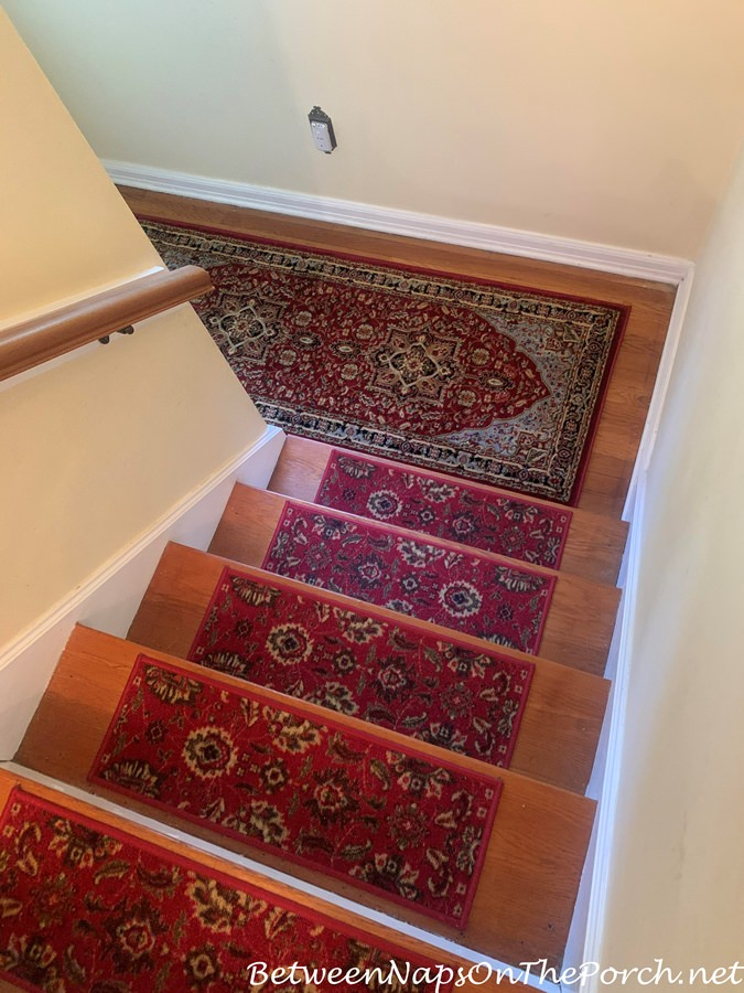 Pretty Traditional Style Carpet Treads for Stairway