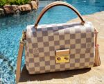 How Teresa Protected the Vachetta Leather on her Beautiful LV Croisette Bag