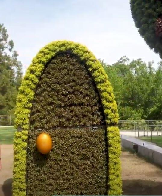 Alice's Wonderland, Whimsical Door, Atlanta Botanical Garden