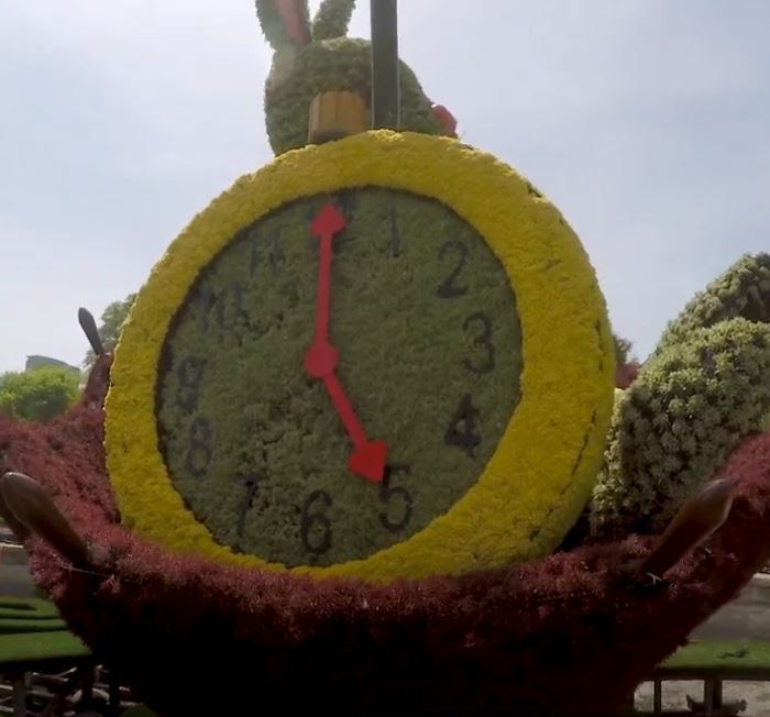 Alice's Wonderland, White Rabbit, Atlanta Botanical Garden