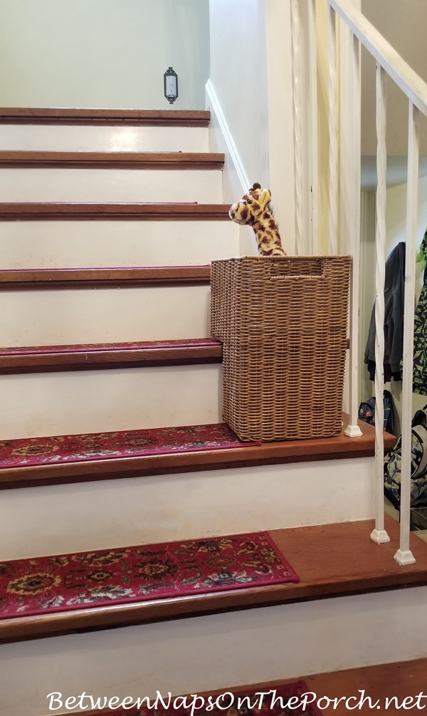 Basket for Staircase
