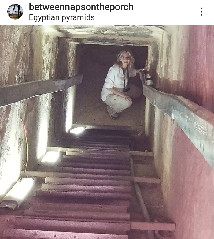 Egypt, Into the Chamber of an Egyptian Pyramid