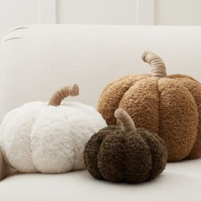 Cozy Fuzzy Pumpkins for Fall and Halloween