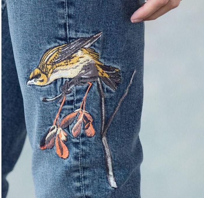 Sundance Jackie Embroidered Jeans on Sale