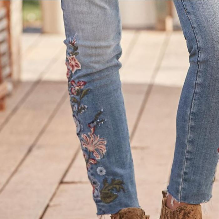 Sundance Jackie Embroidered Jeans