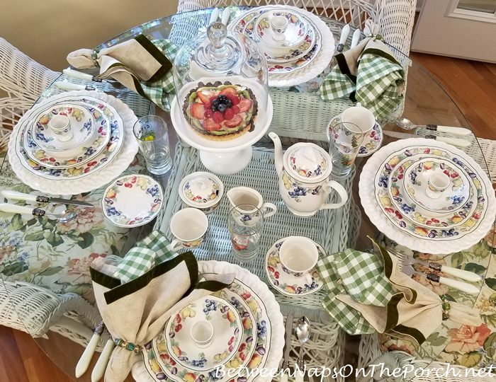 Beautiful Villeroy & Boch Melina in Breakfast Table Setting