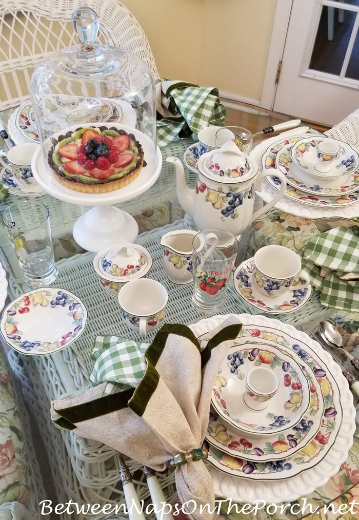 Melina China, Breakfast Table Setting, Villeroy & Boch