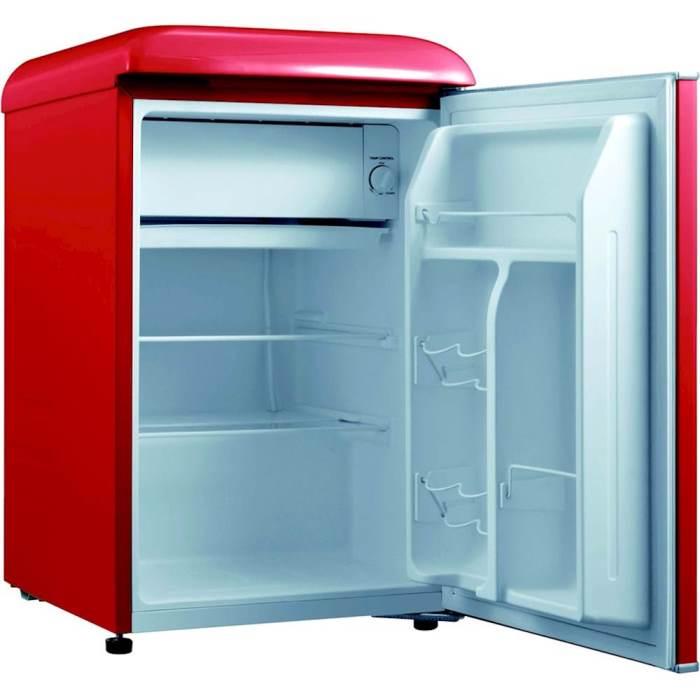 Red Retro Style Mini Refrigerator