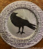 Halloween Table Craft Featuring Edgar Allan Poe's Poem, The Raven