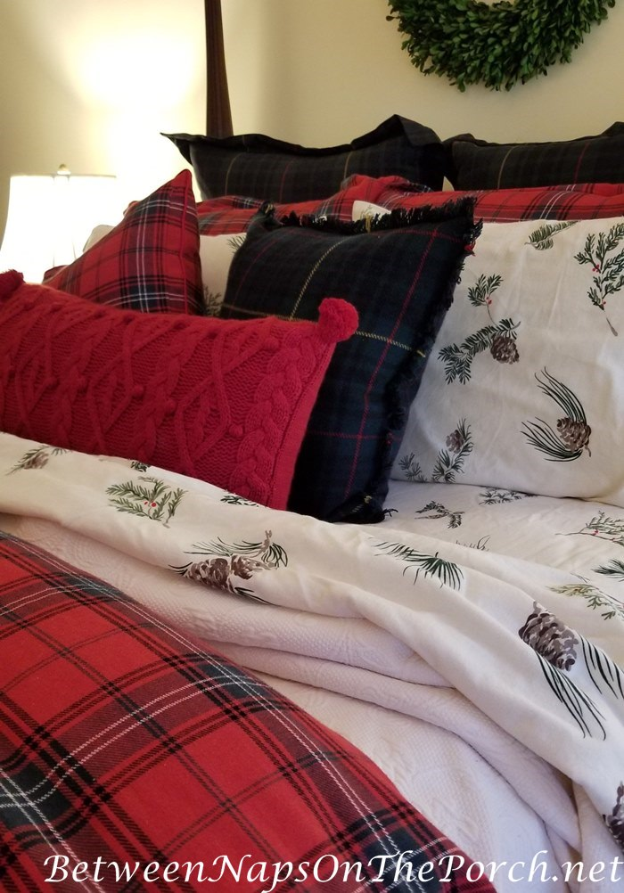 Fall-Winter Tartan Bedding, Flannel Sheets