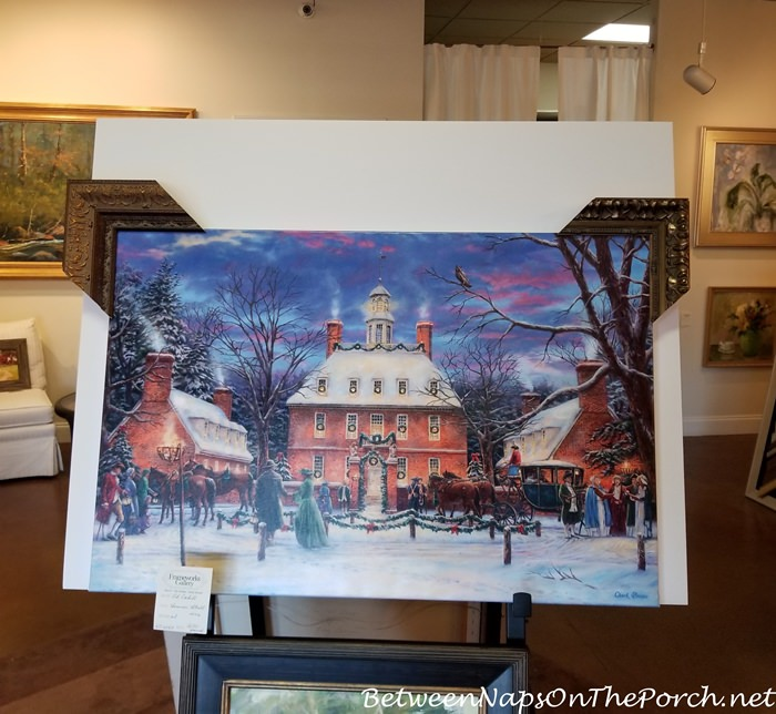 The Governor's Party by Chuck Pinson, Choosing a Frame