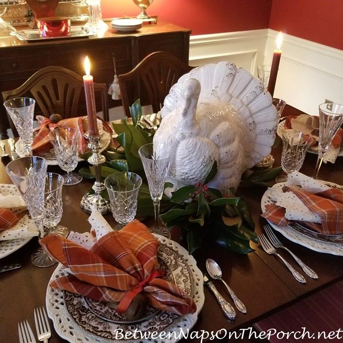 Turkey Centerpiece for Thanksgiving 2020