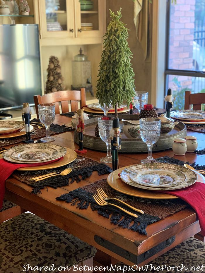 Cozy Christmas Dinner, Johnson Brothers, The Friendly Village China
