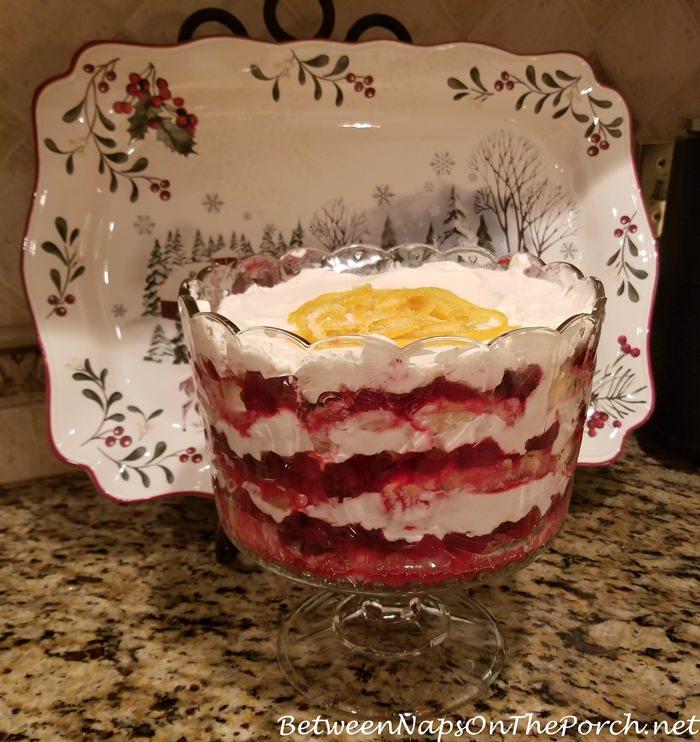 Cranberry Trifle, Easy Recipe
