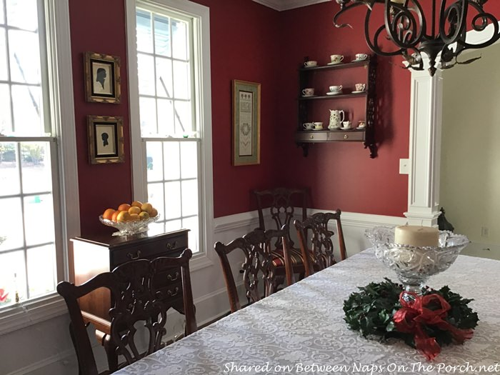 Perfect Red Paint for Dining Room, Benjamin Moore Raspberry Truffle
