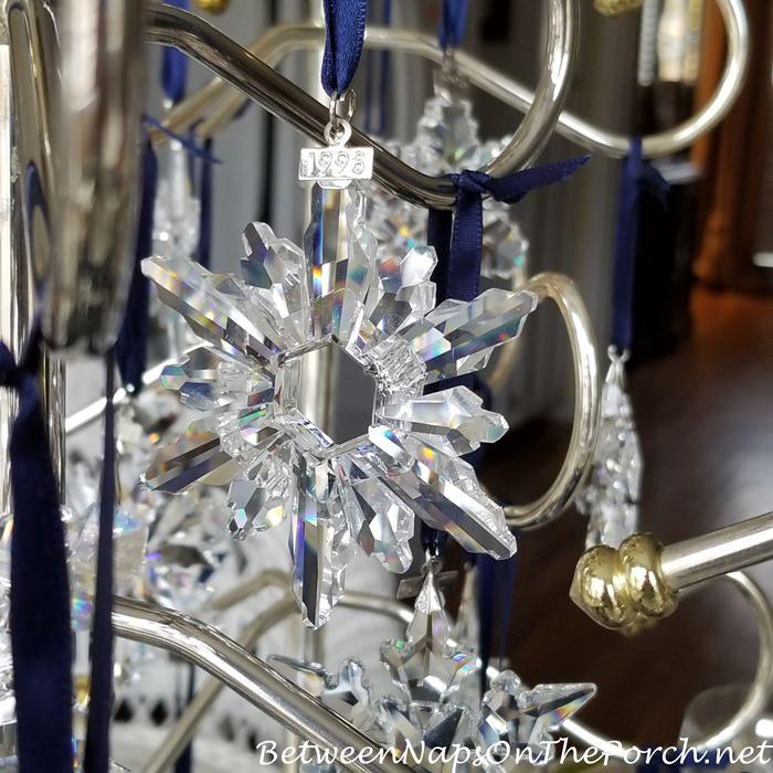 1998 Swarovski Star Ornament