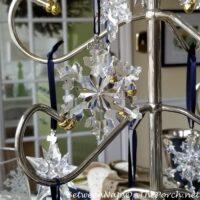 2015 Swarovski Crystal Snowflake Ornament