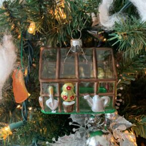 Greenhouse Ornament for Winter Tree