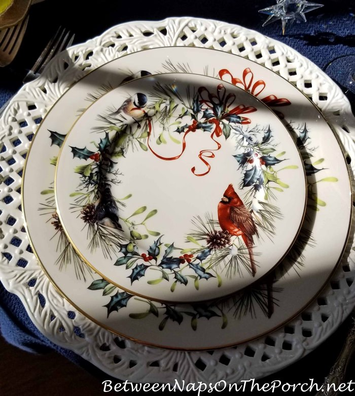 Lenox Winter Greetings for Winter or Holiday Dining