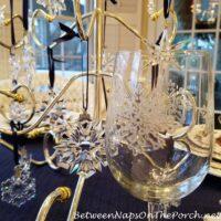 Snowflake Glasses, Snowflake Stemware