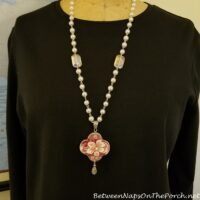 Spode Copeland Tower Necklace, Craft with Broken China