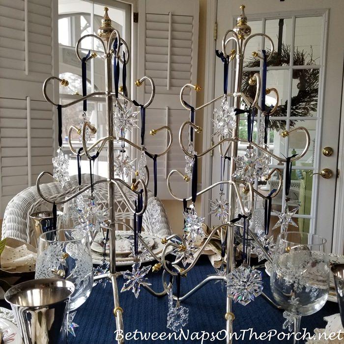 Swarovski Crystal Snowflake-Star Ornaments, 1991-2020