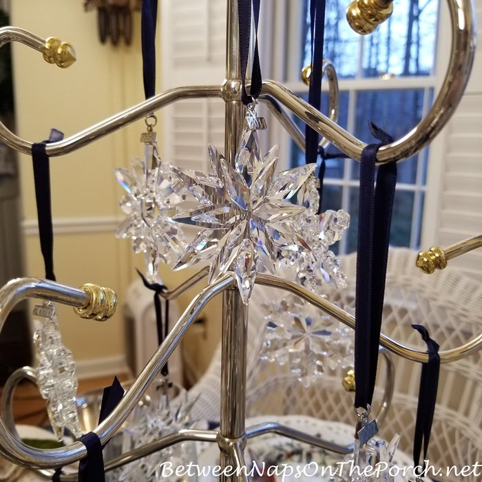 Swarovski Snowflake Ornaments, Crystal Ornaments