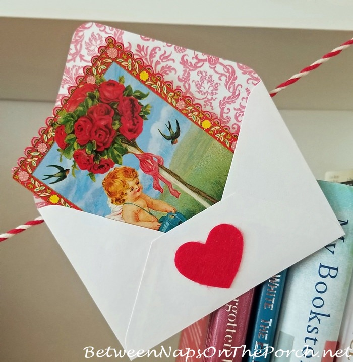 Beautiful Valentine's Day Card, Vintage Style 3
