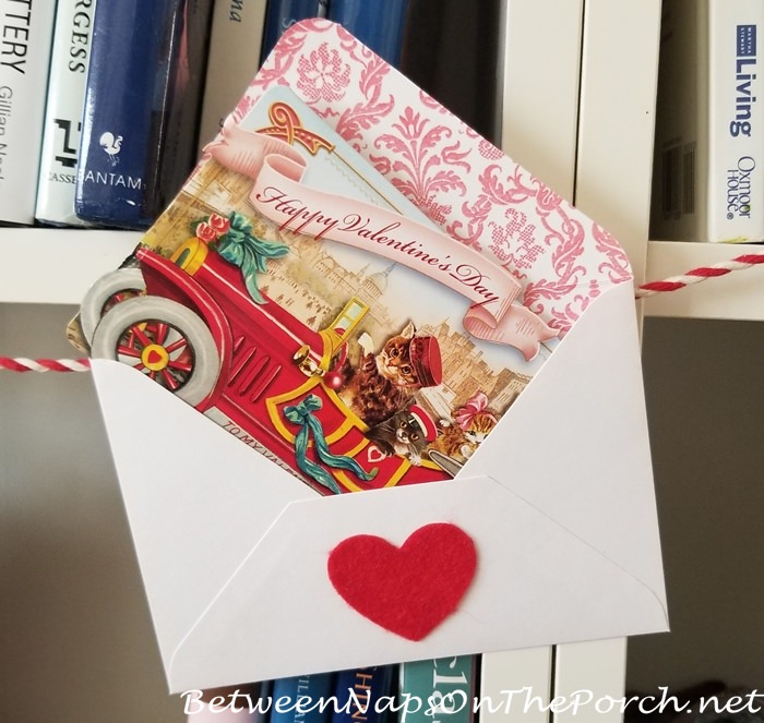 Beautiful Valentine's Day Card, Vintage Style 6