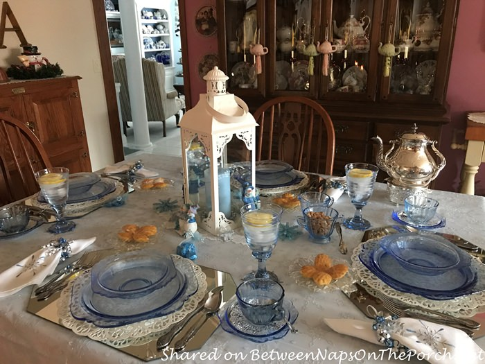 Blue Madrid by Federal Glass Petal, Depression Glass