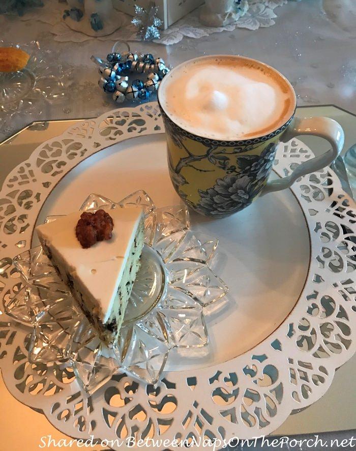Earl Grey Tea Cake and London Fog Latte