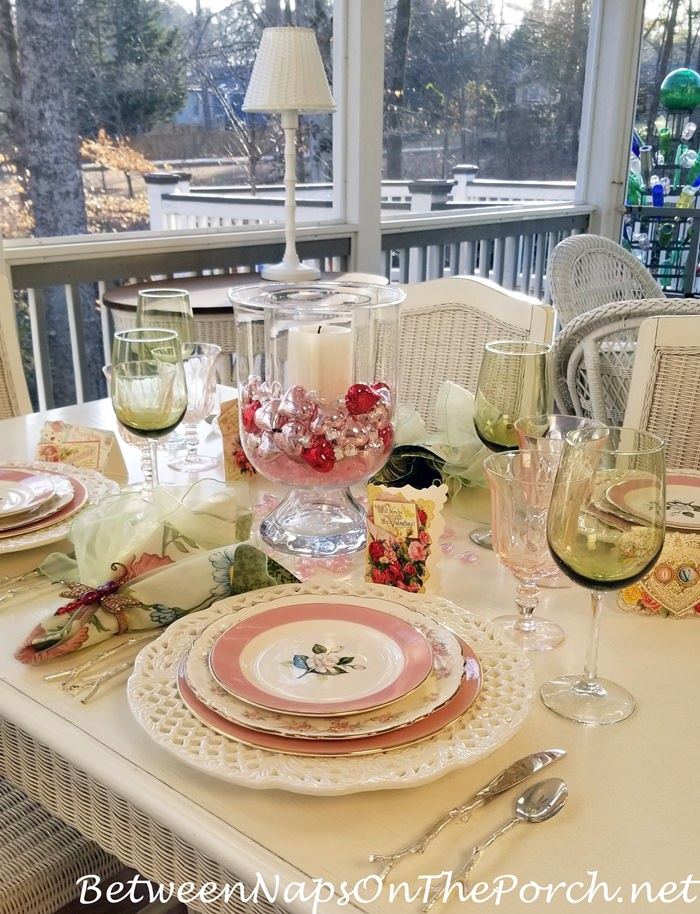 Holiday Table for Valentine's Day