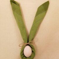 Bunny Napkin Fold