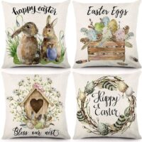 Easter Spring Pillow Covers