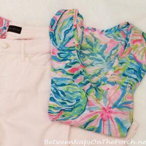 Lilly Pulitzer Short-Sleeve Shirt for Summer